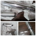 Oogli Sabers began with an aluminum base